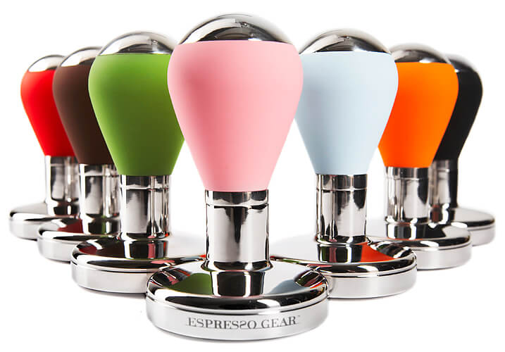 Coloured Coffee Tampers