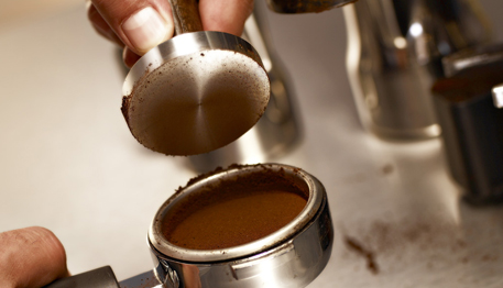 Coffee Tamping