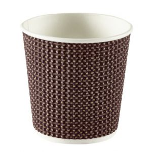Brown Ripple Cups