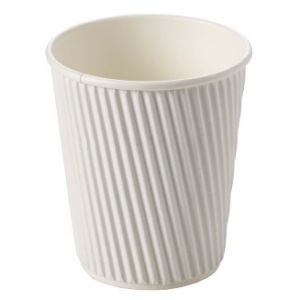 White Ripple Cups