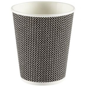 Black Patterned Cups