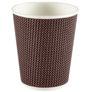 Brown Patterned Cups