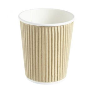 Kraft Ripple Disposable Cups