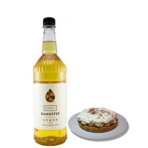 Banoffee Syrup Flavouring