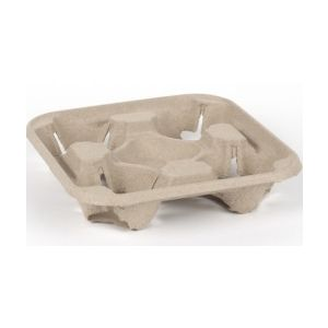 4 Cup Carry Tray