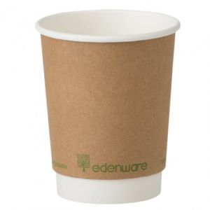 8oz Kraft Compostable Cups