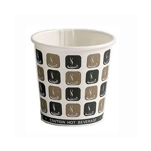 Cafe Mocha Single Wall Cup 4oz