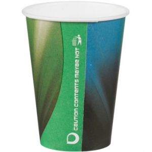 Prism Green Tall Paper Cups 7oz