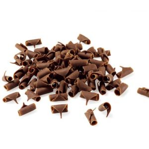 Milk Chocolate Curls