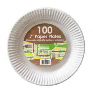 "7"" Paper Plates"
