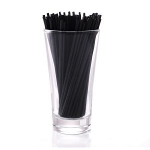 Black Sip Straws
