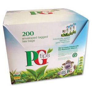 PG Tips Enveloped Tea