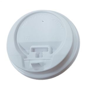 White Closeable Lids