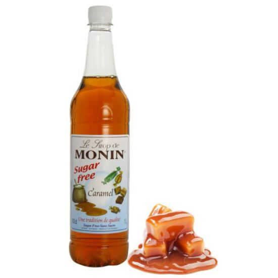 Monin Sugarfree Caramel Syrup 1 Litre A1 Coffee