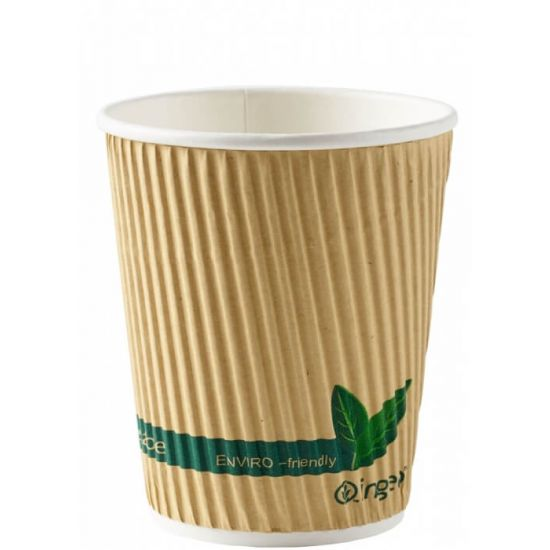 BioPak catering. Compostable carbon neutral coffee cups