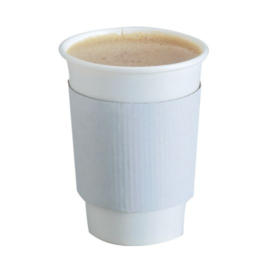 Details about 1000 Set 10 Oz. Disposable Hot Tea Paper Coffee Cups With Lids Sleeves Stirrers