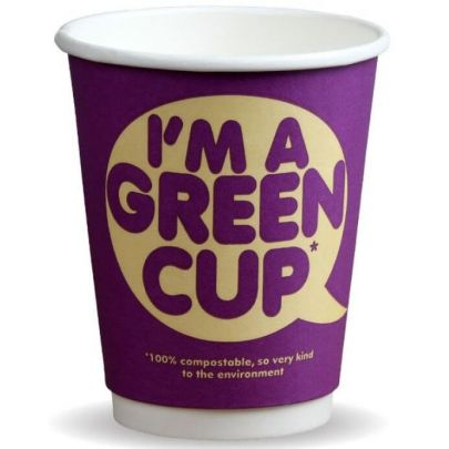 Compostable Double Wall Cups