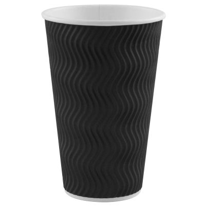 Large Wavy Coffee Cups