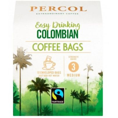 Percol Colombian Coffee Bags