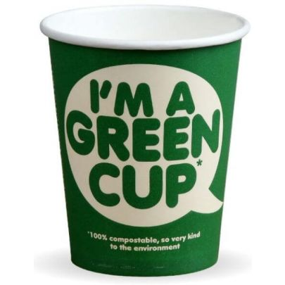 Green Takeaway Paper Cups