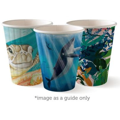 Art Series Double Wall Paper Cups