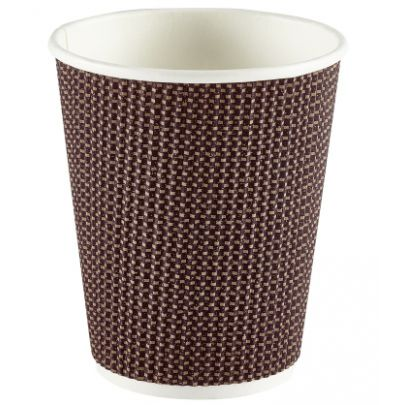 Brown Pattern Cups