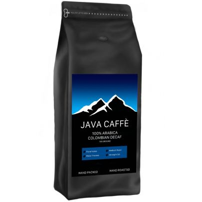 Java Caffe Colombian Decaf Ground Coffee (1kg)