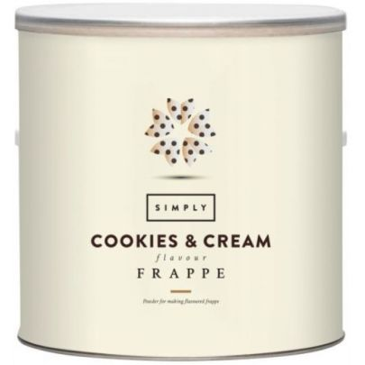 Simply Cookies and Cream Frappe