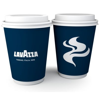 Lavazza double wall paper cups