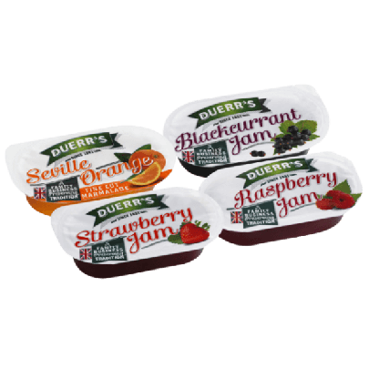 Duerr's Assorted Jam Portions