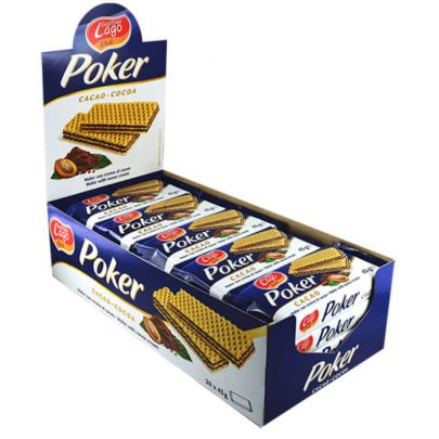 Elledi Poker Cocoa Wafers