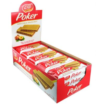 Elledi Poker Hazelnut Wafers