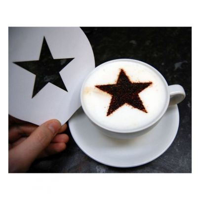 Star Coffee Stencil