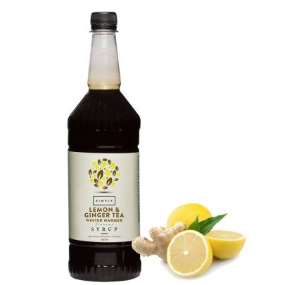 Lemon Ginger Tea Syrup