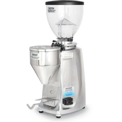 Mazzer Mini Electronic Polished Silver
