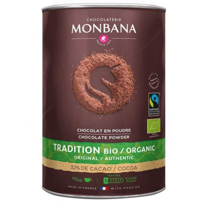 Monbana Fairtrade Organic Hot Chocolate