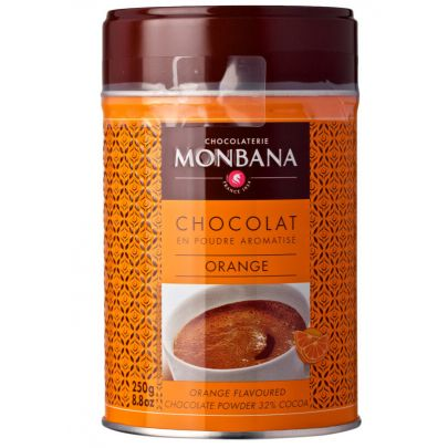 Monbana Orange Hot Chocolate