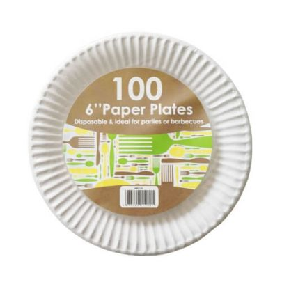 "6"" Paper Plates"