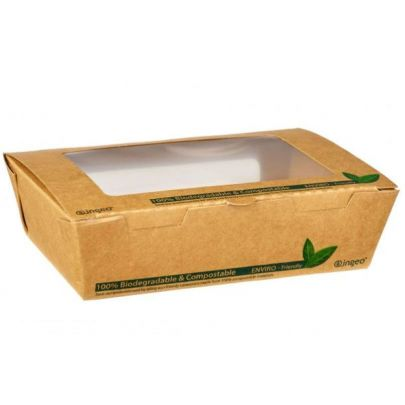 Takeaway Cardboard Salad Box