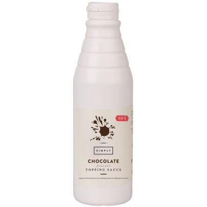 Simply Milk Chocolate Sugar Free Squeezy Topping Sauce (1kg)