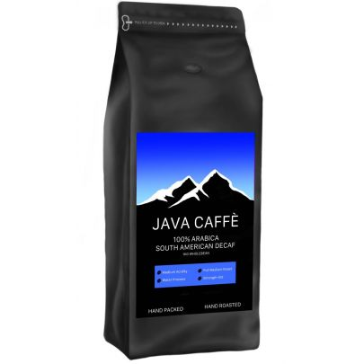 Java Caffe South American Decaf Coffee Beans (1kg)