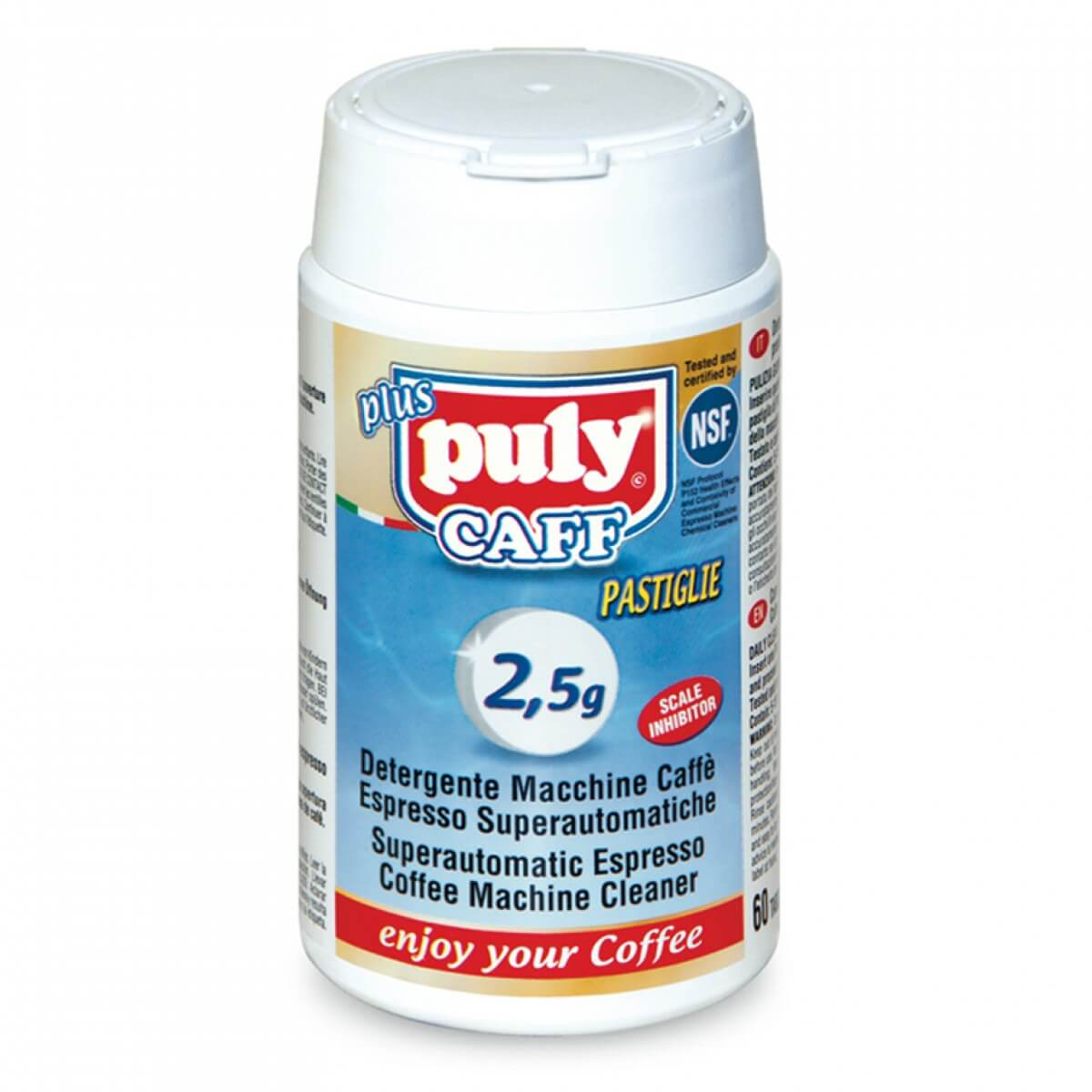 Puly Caff Cleaning Tablets 25g 60 Tablets