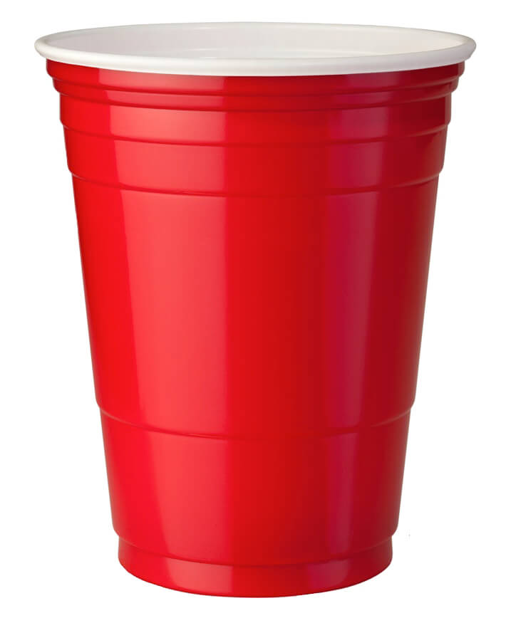 16oz Red Party Cups