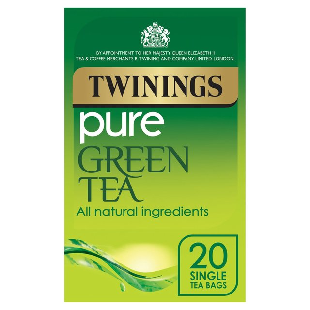 Twinings Pure Green Envelope Teabags Box Of 20